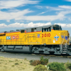 UP unveils #2010 BSA Commemorative Locomotive