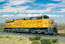 UP unveils #2010 BSA Commemorative Locomotive