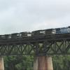 NS 413 over the Susquehanna River