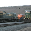 RN 5014 and Jersey Central 1554 in Jim Thorpe