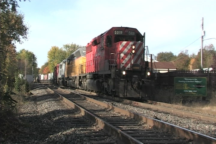 CP #164 on the Reading and Northern.